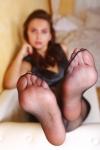 Fußtreffen mit Sexy-Lena