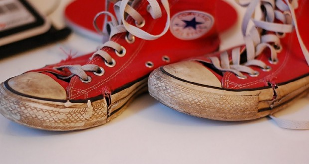 Abgelaufene Schuhe zu verkaufen