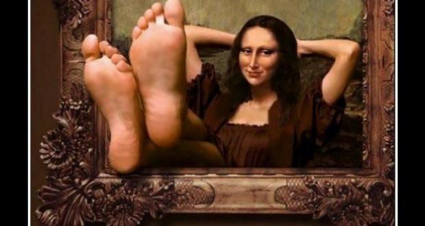 Mona Lisas Füsse
