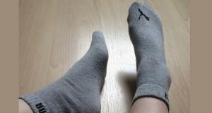 Studentin Fabs verkauft ihre Socken und Pantys